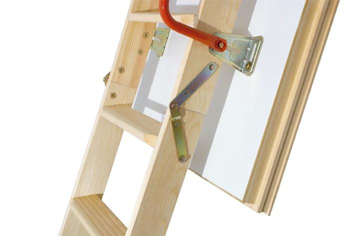 Термоизоляционная складная чердачная лестница LTK Energy 60x100x280 FAKRO