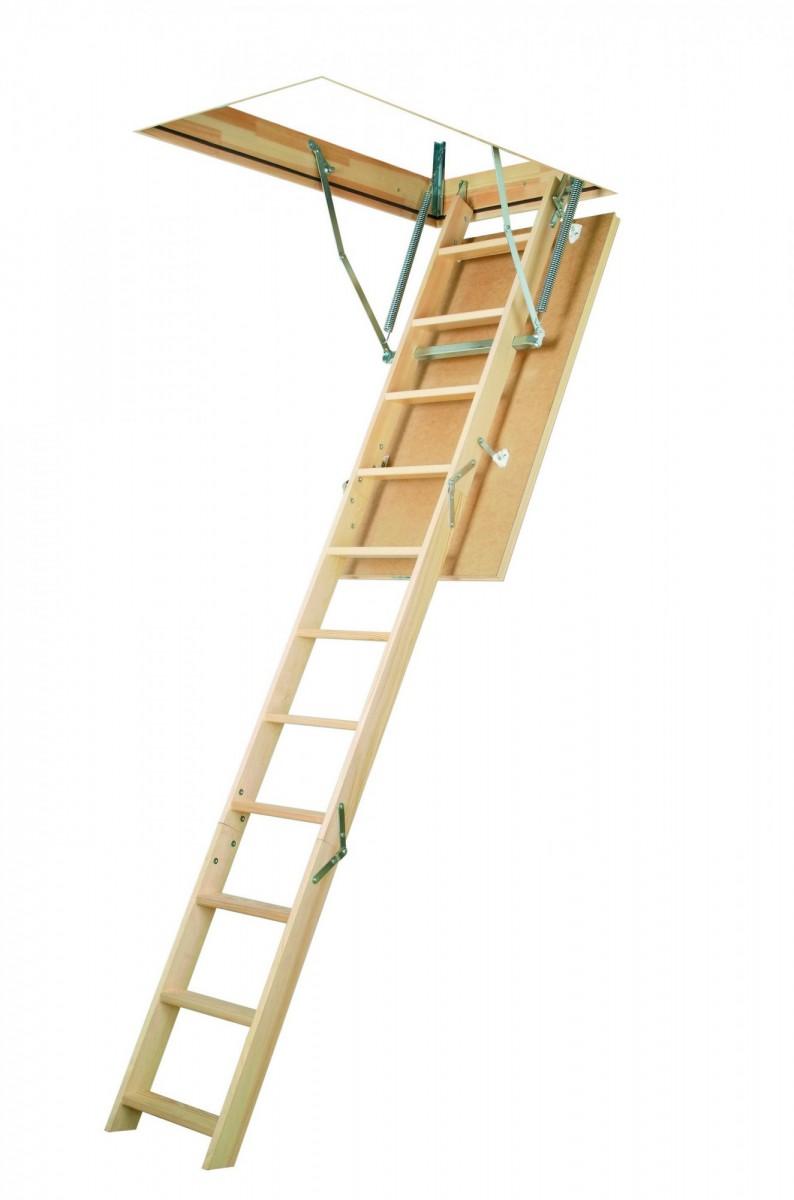Лестница чердачная  LWS Plus 70x120x280 FAKRO