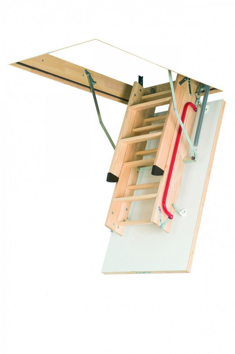 Термоизоляционная складная чердачная лестница LTK Energy 70x100x280 FAKRO