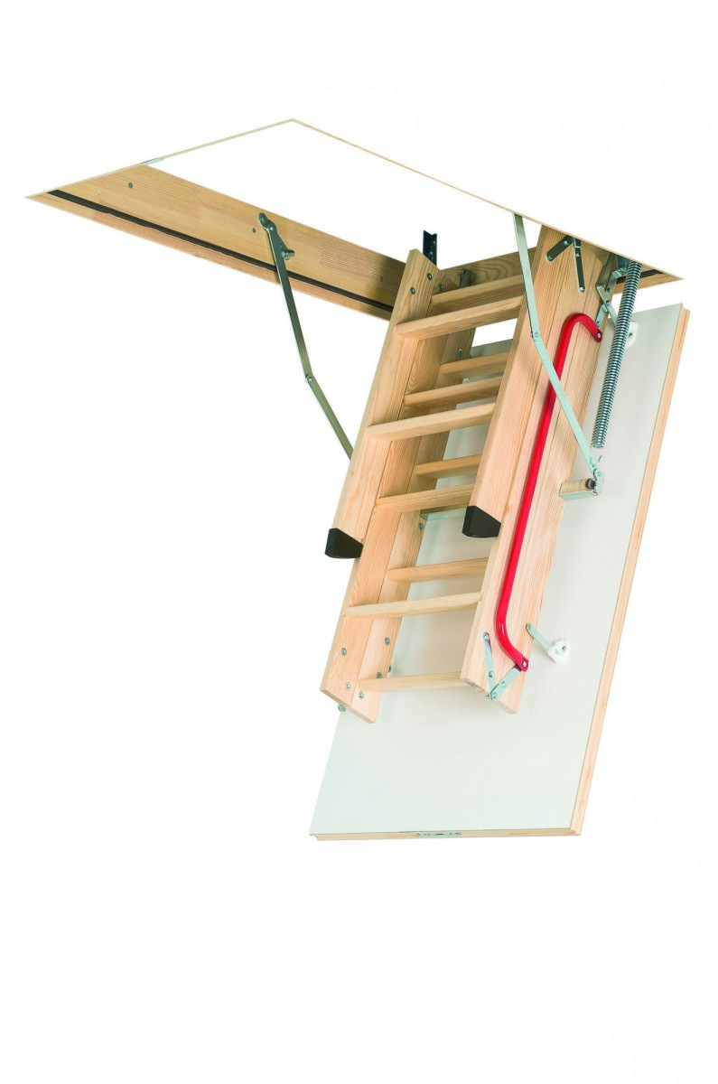 Лестница чердачная  LWK Plus 70x120x335 FAKRO (без наконечников на ножки)