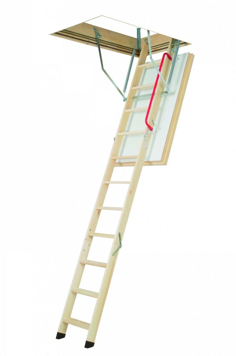 Суперэнергосберегающая лестница LWT 70x130x305 FAKRO