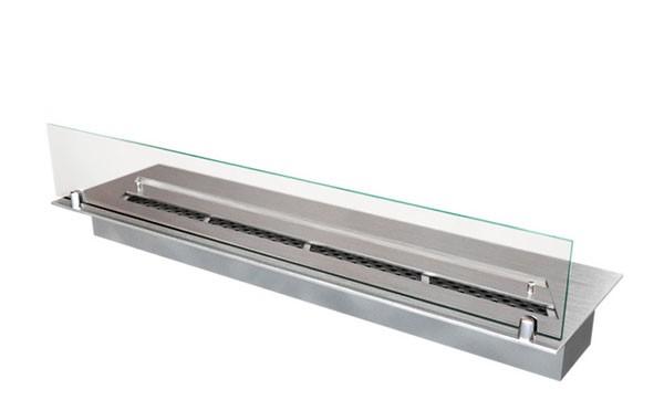 Прямоугольный контейнер ZeFire 700 со стеклом