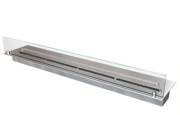 Прямоугольный контейнер ZeFire 1000 со стеклом