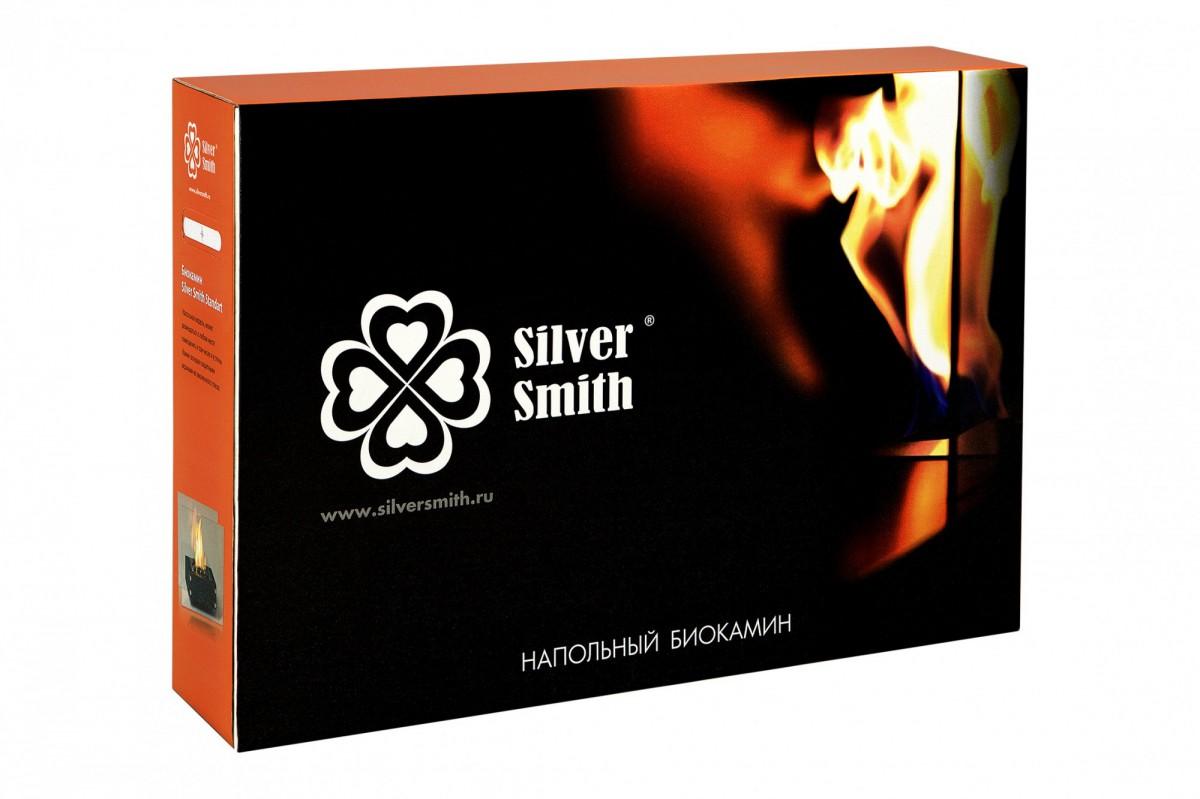Биокамин Silver Smith STANDART PREMIUM White