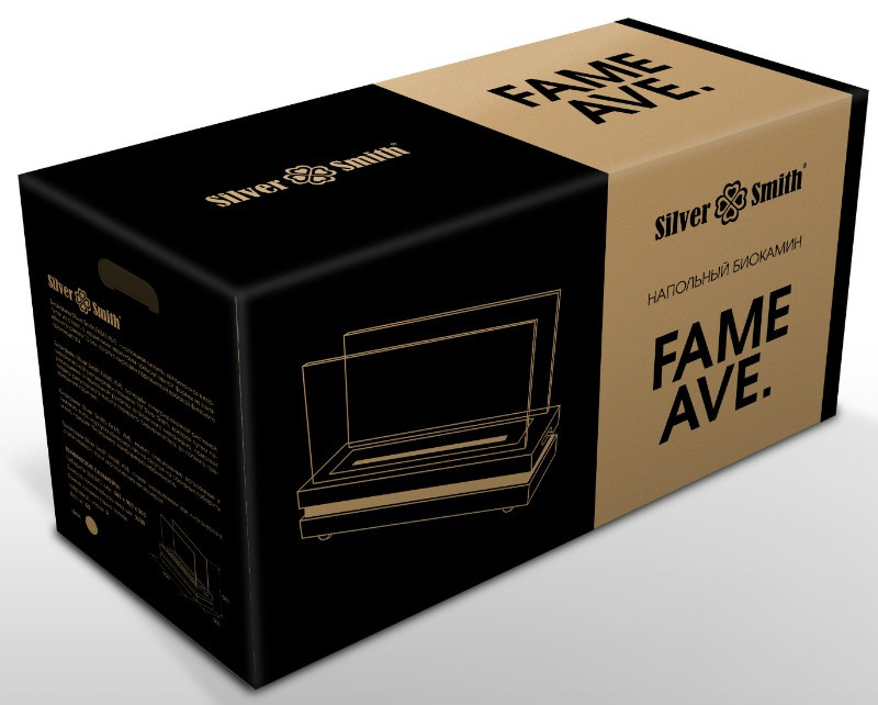 Биокамин Silver Smith FAME AVE. 700 WHITE