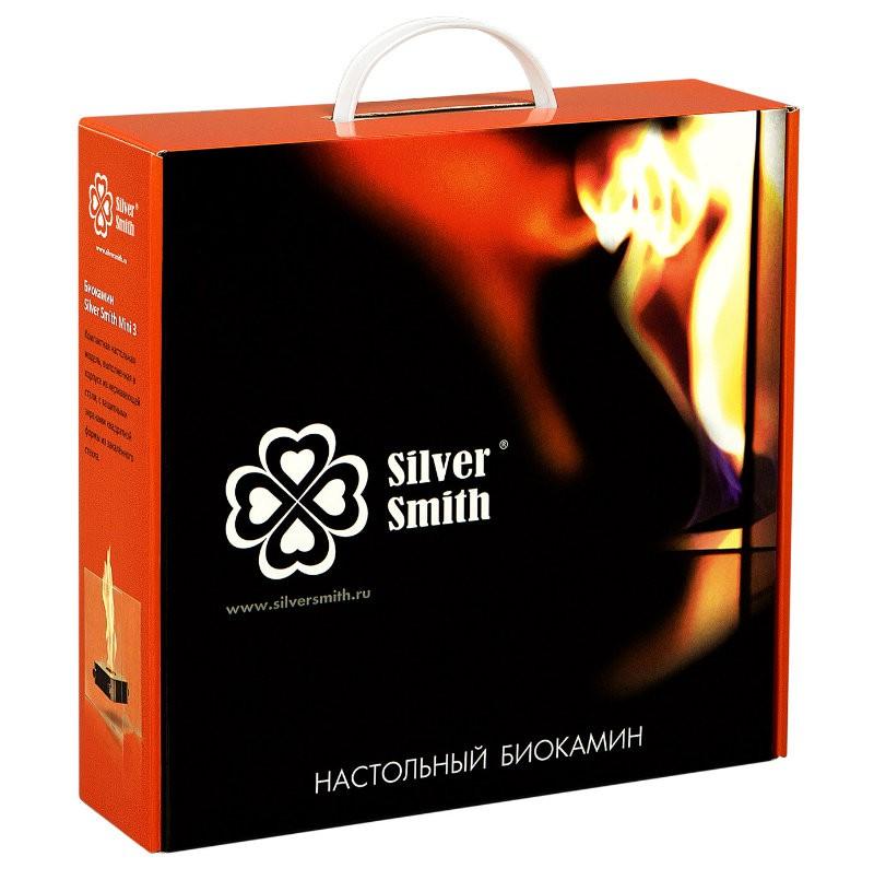 Биокамин Silver Smith MINI 3 PREMIUM Red