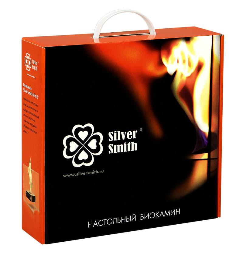 Биокамин Silver Smith MINI 3 PREMIUM Grey