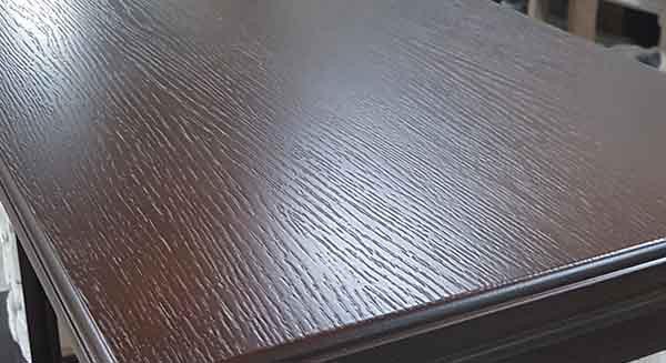 Электрокамин пристенный Арочный Грот однотонный/Дуб 46 с очагом Majestic brass