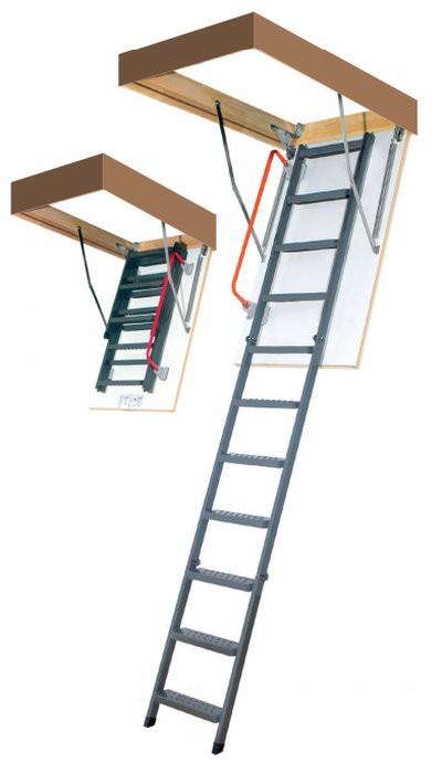 Лестница чердачная  LMK 70x120x280 FAKRO
