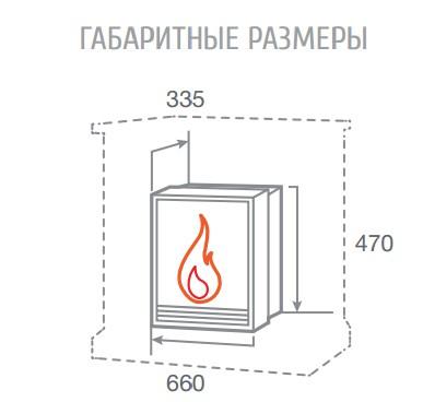 Электроочаг FireField 25 S IR