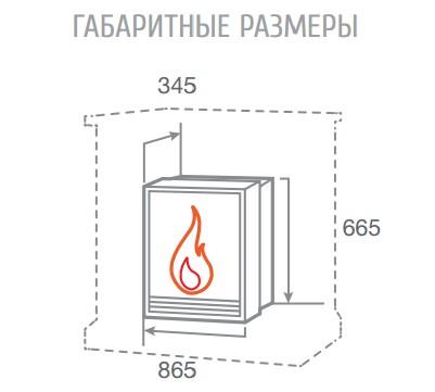 Электроочаг FireSpace 33 S IR