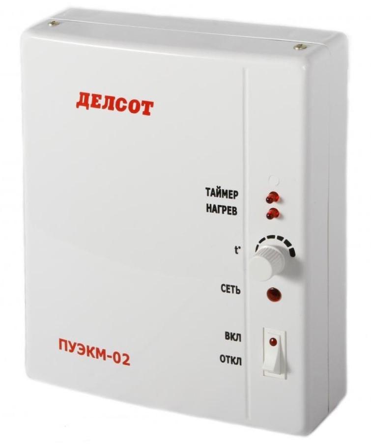 Панель управления ПУЭКМ-02, 4,5-12 кВт с кабелем 3 метра ДЕЛСОТ