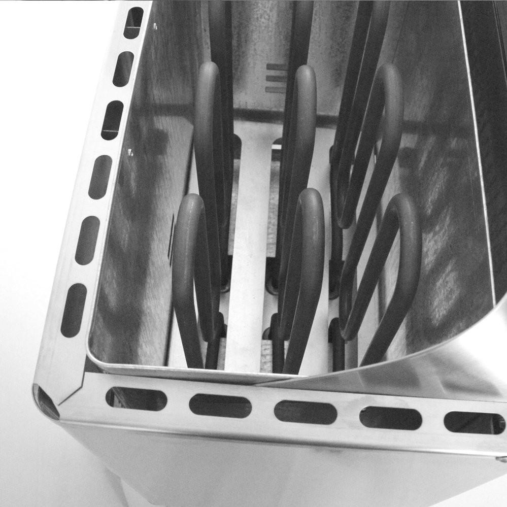 Электрическая печь из нерж. стали ЭКМ 1-9 LUX, ДЕЛСОТ
