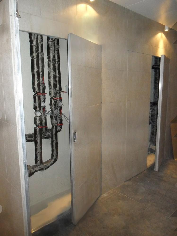 Люк-дверь под плитку 800 х1500 (ш*в) ТЕХНО