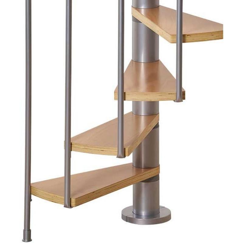 Винтовая лестницаCalgaryGrey, диаметр 140 см