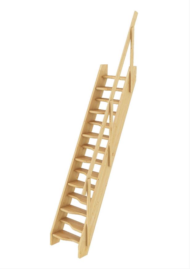 Лестница из сосны К-007м/40
