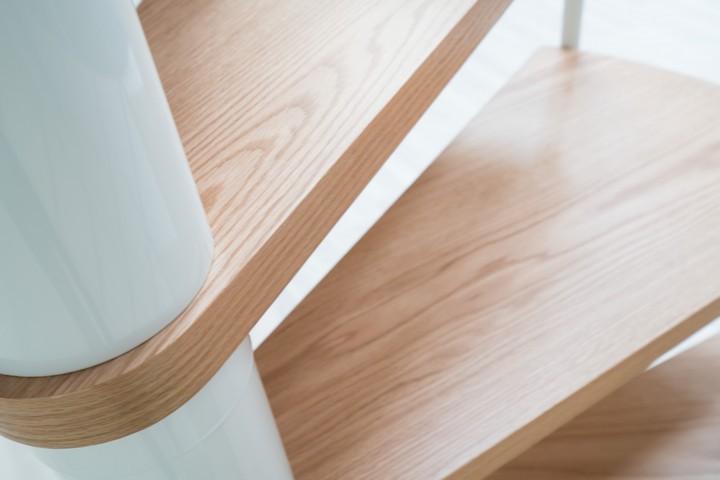 Винтовая лестница Montreal Style, диаметр 120 см, белый