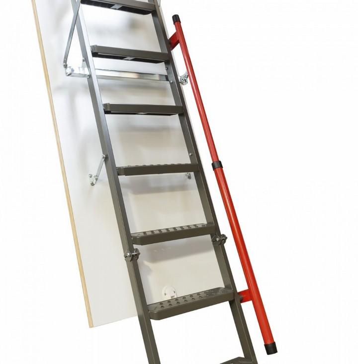 Складная металлическая лестница LMP 60x144x366 FAKRO