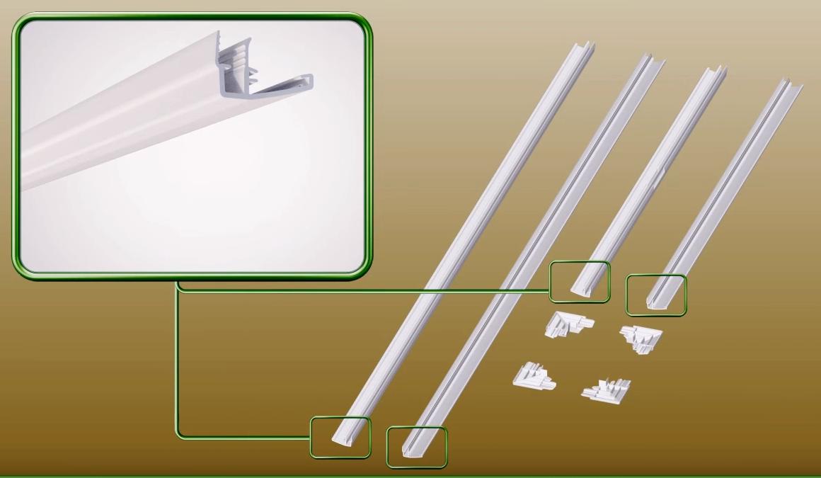 Декоративная планка LXL-PVC 86х140 см