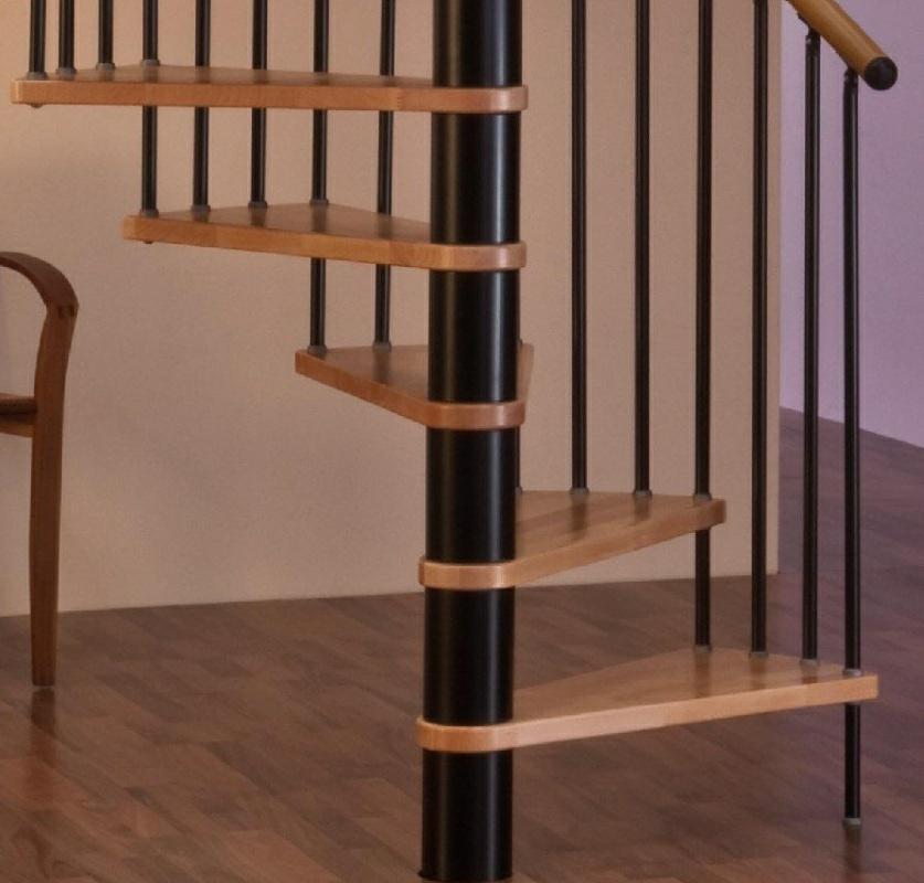 Винтовая лестница Spiral Decor диаметр 140 см, черный